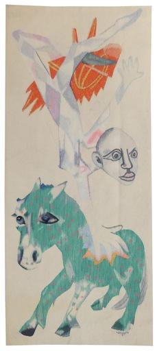 Bernard LORJOU - Tapestry - l'acrobate