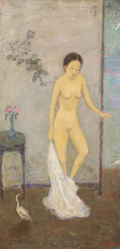 JIA Juanli - Gemälde -  Apres le bain