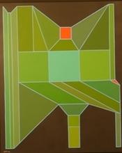 Achille PERILLI - Peinture - L'Anima Rossa