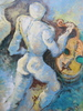 Ruben GROSMAN - Peinture - Les fantômes de la musique.
