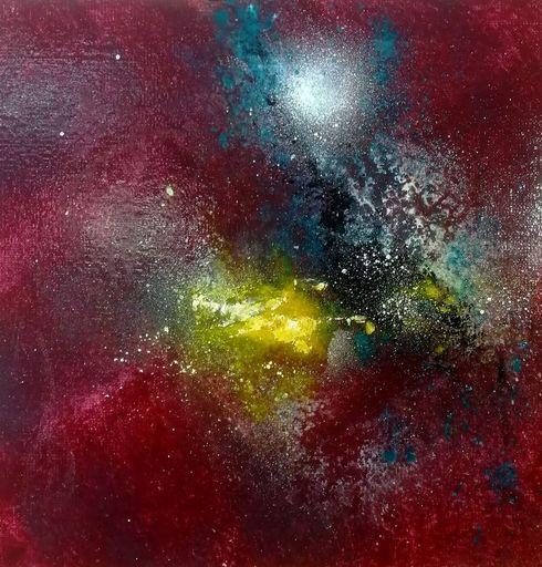Dann AUBERT - Peinture - Abstraction O