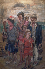 Paul MAAS - Painting - Les Vacances