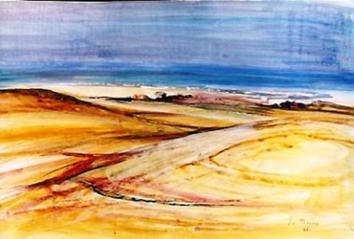 Michel JOUENNE - Dessin-Aquarelle - Mediterranee