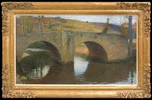 亨利•马丁 - 绘画 - Le Pont de Labastide du Vert