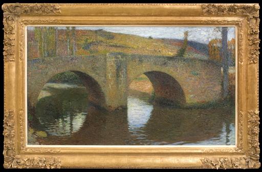 Henri MARTIN - Painting - Le Pont de Labastide du Vert