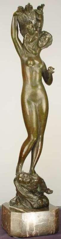 Bretislav BENDA - Skulptur Volumen - The Temptation