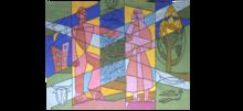 Léopold SURVAGE - Tapisserie - Composition
