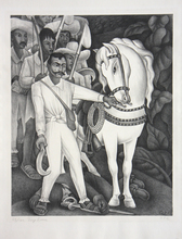 Diego RIVERA (1886-1957) - Emiliano Zapata