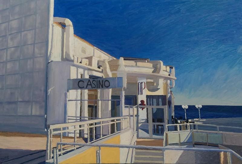 Omar LOGANG - Peinture - Casino Riviera