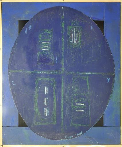 Lorenzo POLIMENO - Pintura - Scudo di Ettore dedicato ad Andromaca