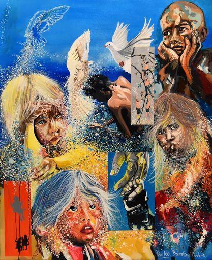 Frederic BALMEFREZOL - Peinture - Douleurs d'espoir