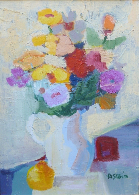 Marie ASTOIN - Painting - Bouquet