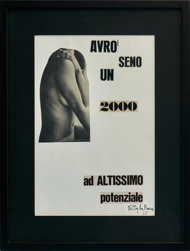 Ketty LA ROCCA - Dibujo Acuarela - Avrò un seno 2000 ad altissimo potenziale