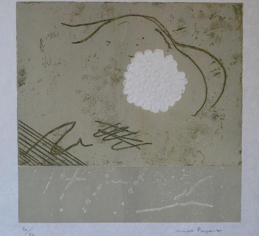 Max PAPART - Estampe-Multiple - GRAVURE 1976 SIGNÉE AU CRAYON NUM/20 HANDSIGNED NUMB ETCHING