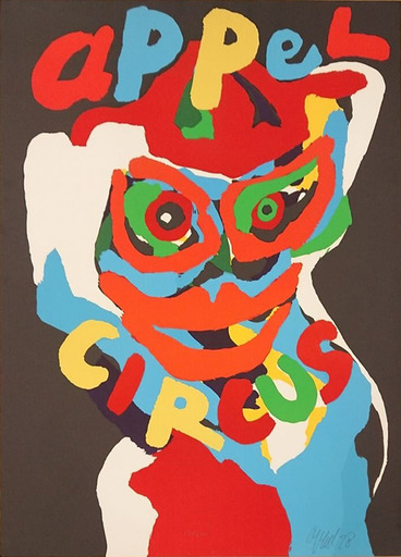 Karel APPEL - Estampe-Multiple - Circus