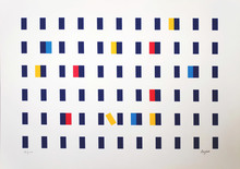 Yaacov AGAM - Print-Multiple - Homage to Federico Garcia Lorca II