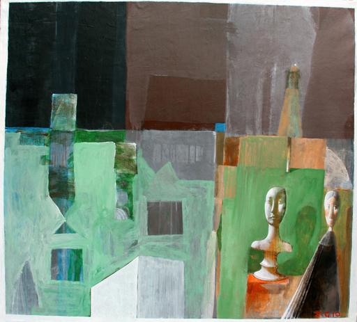 Zurab GIKASHVILI - Peinture - Interior