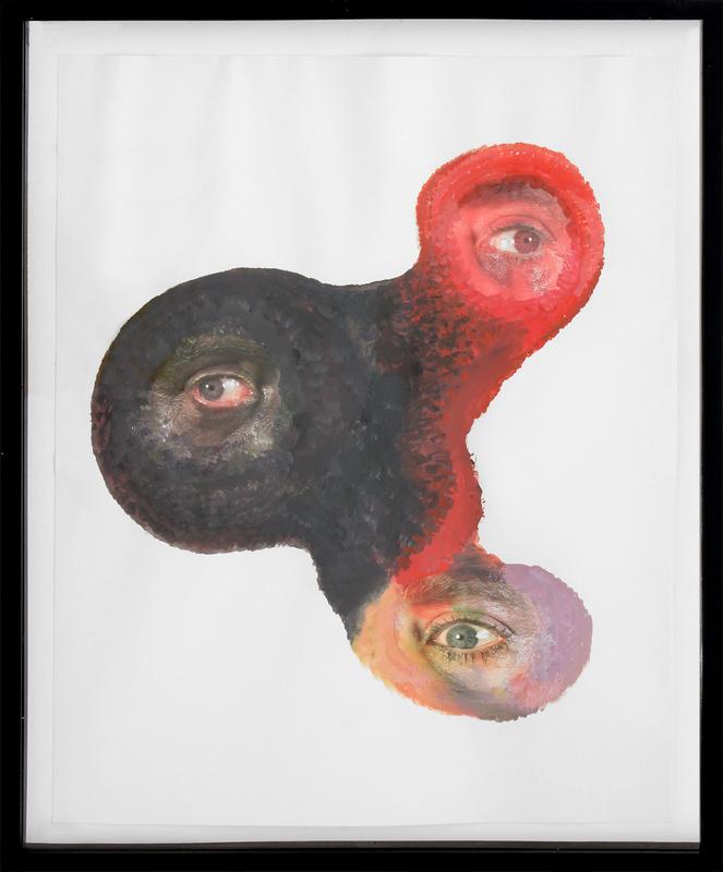 Tony OURSLER - Pittura - Ooks