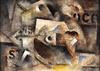 Robert MARC - Peinture - Composition '68'