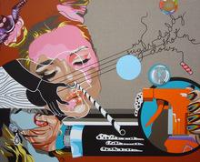 Myriam BAUDIN - Peinture - Pchiiit Bang Bang