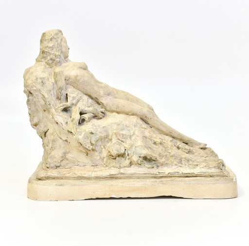 Giuseppe SICCARDI - Skulptur Volumen - Diana con il corno