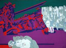 Philippe ARTIAS - Painting - Roma - Gli anni di piombo