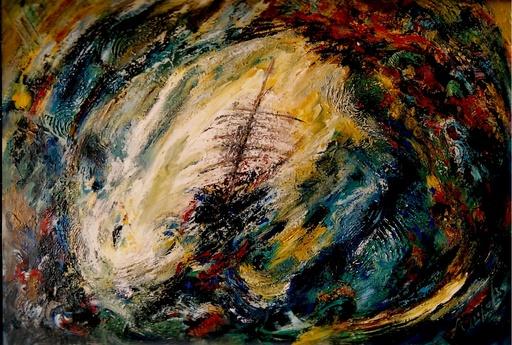 Didier ANGELS - Peinture - Le Vaisseau Fantôme
