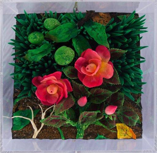 Piero GILARDI - Skulptur Volumen - Rose e noci