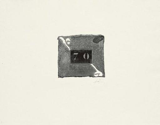 "Antoni TAPIES - Print-Multiple - ""70"""