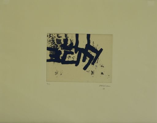 Eduardo CHILLIDA - Print-Multiple - Continuation II