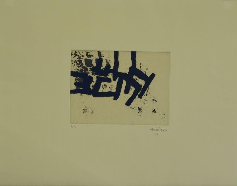 Eduardo CHILLIDA - Stampa-Multiplo - Continuation II