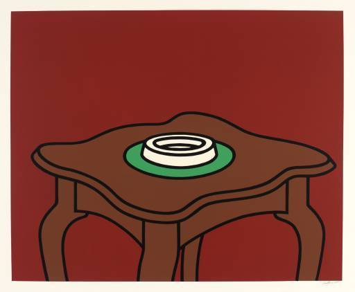 Patrick CAULFIELD - Print-Multiple - Occasional Table