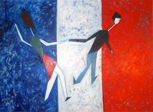 Abraham DAYAN - Painting - Hommage