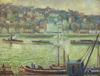 Georges MANZANA-PISSARRO - Painting - La Grue St Cloud