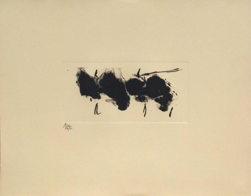Robert MOTHERWELL - Print-Multiple - Automatism Elegy