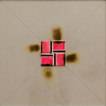 Bernard AUBERTIN - Pintura - Dessin de feu