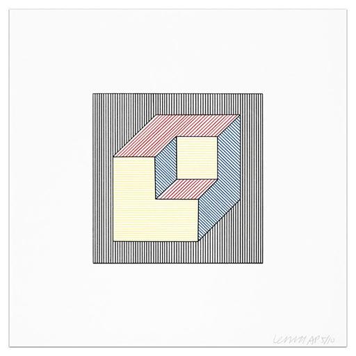 Sol LEWITT - Druckgrafik-Multiple - Plate #47