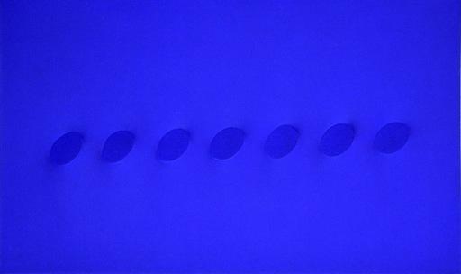Turi SIMETI - Gemälde - Sette ovali blu