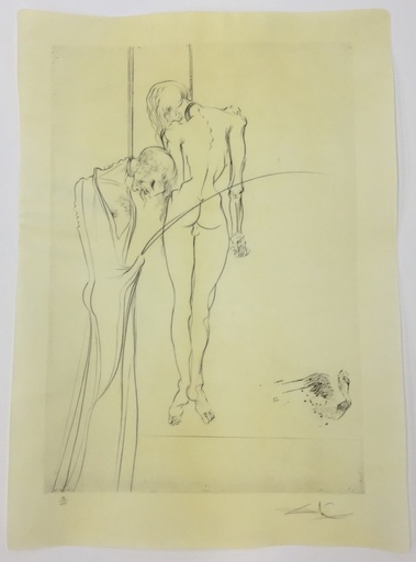萨尔瓦多·达利 - 版画 - Des rois pendus aux arbres qui...