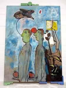 Robert HARTMANN - Pittura - o.T.