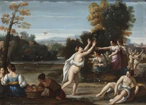 Sisto BADALOCCHIO - Painting - Erotic Allegory