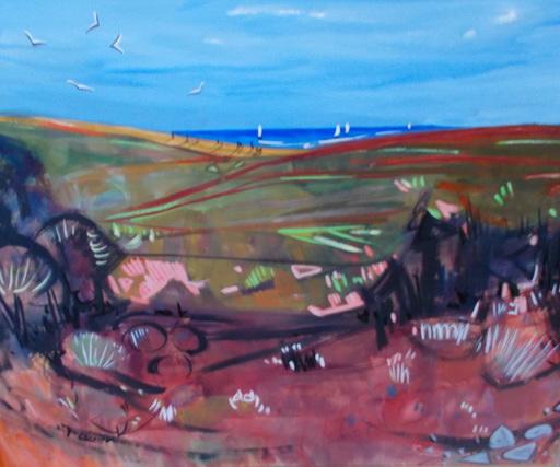 Maurice LÉONARD - Gemälde - Paysage