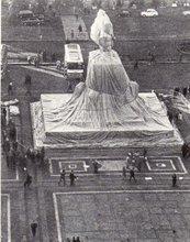 克里斯托 - 版画 - Wrapped Monument Vittorio Emanuele II