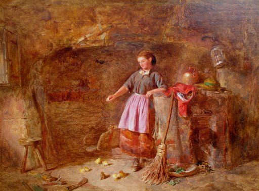 Alfred PROVIS - Pintura - Feeding the New Brood