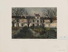 莫里斯•郁特里罗 - 版画 - Le Jardin de Montmagny