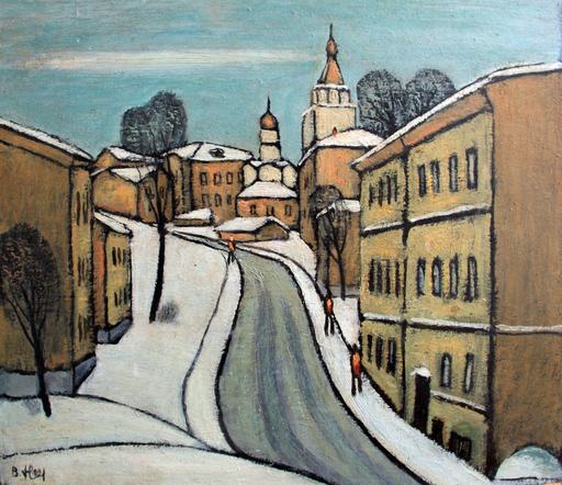 """Valeriy NESTEROV - Gemälde - """"Khitrovka"""" Moscow"""