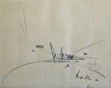Georges MATHIEU (1921-2012) - Composition,1962