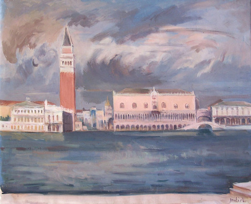 Adolphe MILICH - Painting - Venice