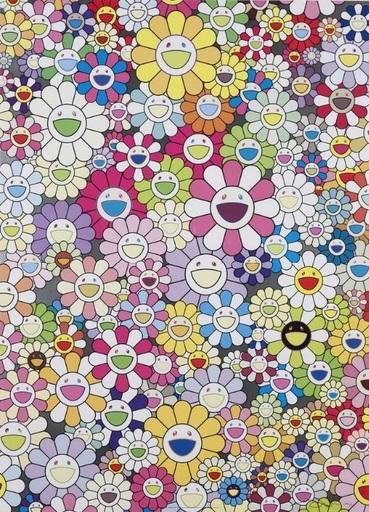 Takashi MURAKAMI - Print-Multiple - An Homage to Yves Klein Multicolor B