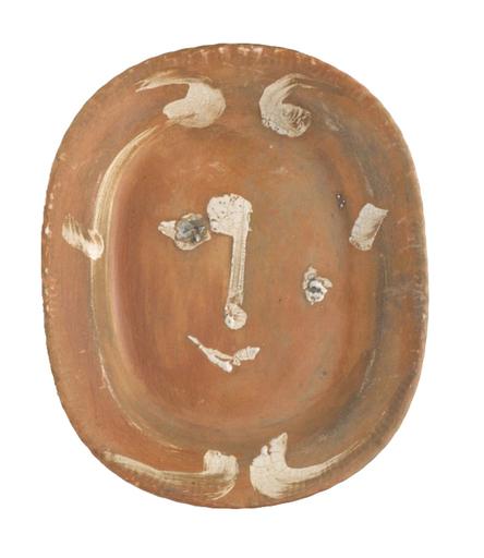 巴勃罗•毕加索 - 陶瓷  - Esquisse de tête de faune